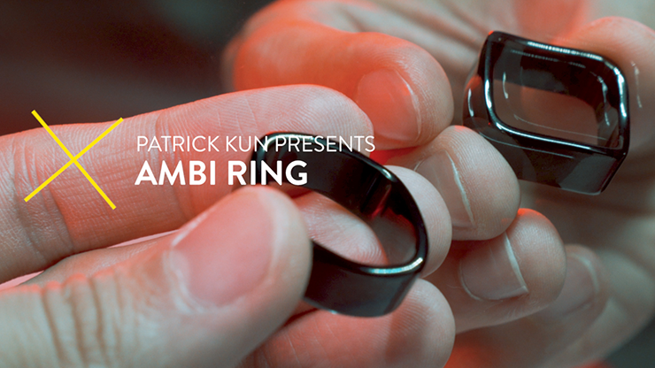 Ambi Ring Black - Patrick Kun