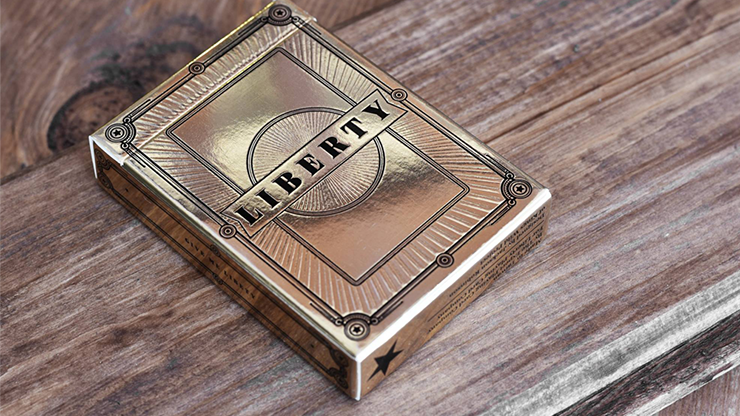 Limited Edition Liberty Playing Cards (Gold) - Jackson Robinson