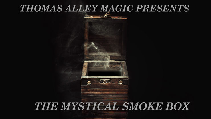 Mystical Smoke Box (gimmicks and online instruction) - Thomas Al
