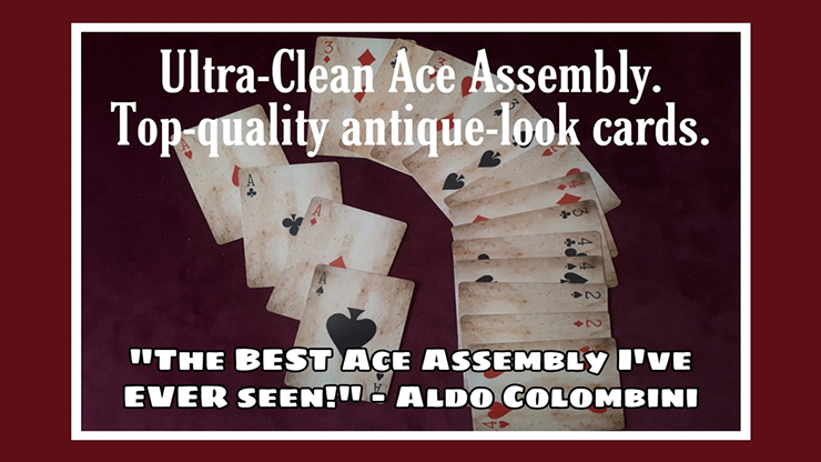 Ultra Clean Ace Assembly - Paul Gordon (Gimmick and Online Instructions)