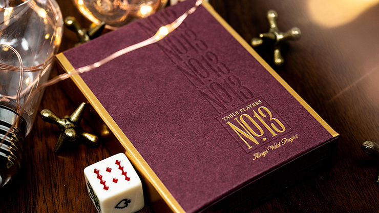 No.13 Table Players Vol. 1 Playing Cards - Kings Wild Project