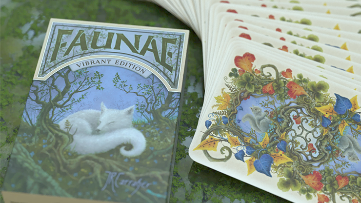 Faunae Vibrant Edition Playing Cards by Brain Vessel