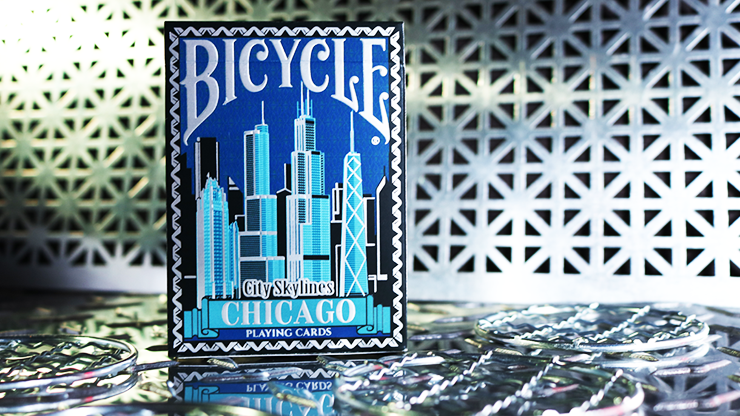 Limited Edition Bicycle City Skylines (Chicago)