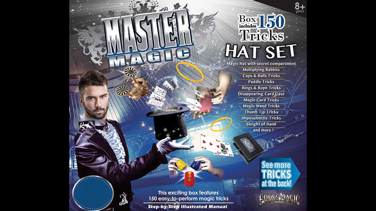 MASTER MAGIC 150 MAGIC HAT SET - Eddy's Magic