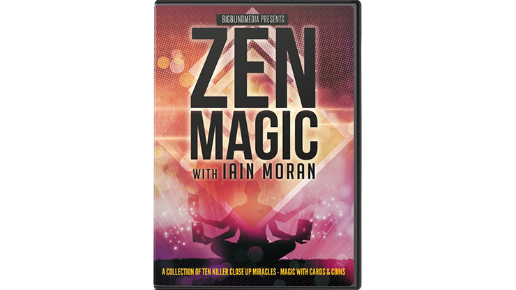 Zen Magic with Iain Moran - Magic With Cards and Coins - DVD