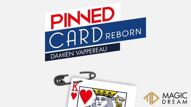 Pinned Card Reborn (Gimmicks and Online Instructions)  - Damien