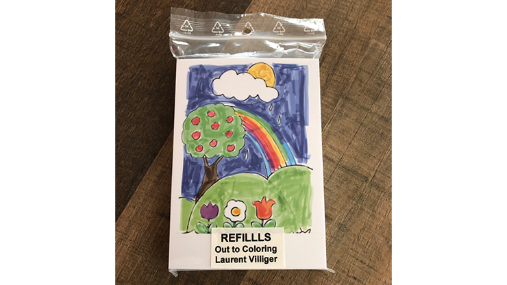 Refill (50) for Out To Coloring (STAGE) - Laurent Villiger