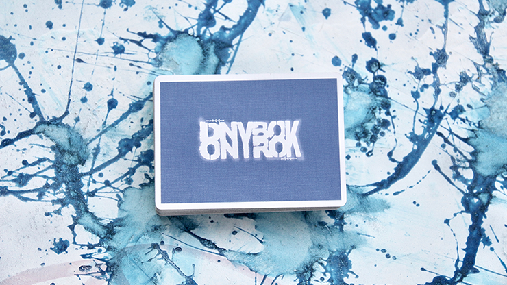 The Stencil Playing Cards by Donny Brook
