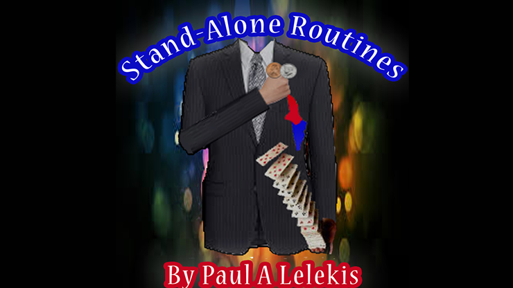 STAND ALONE ROUTINES by Paul A. Lelekis Mixed Media DOWNLOAD