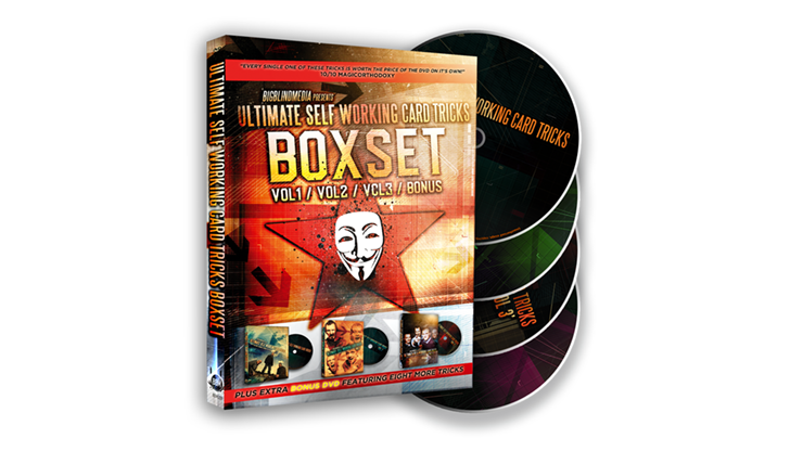 Ultimate Self Working Card Tricks Triple Volume Box Set