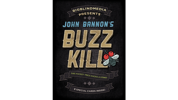 Buzz Kill (Gimmicks and Online Instructions)