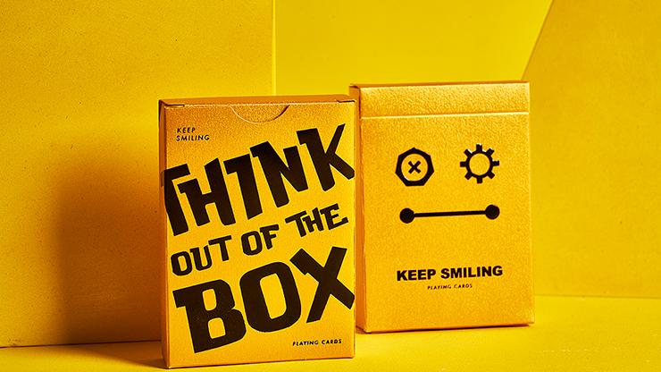 Carti de joc Keep Smiling Pearl Gold V2