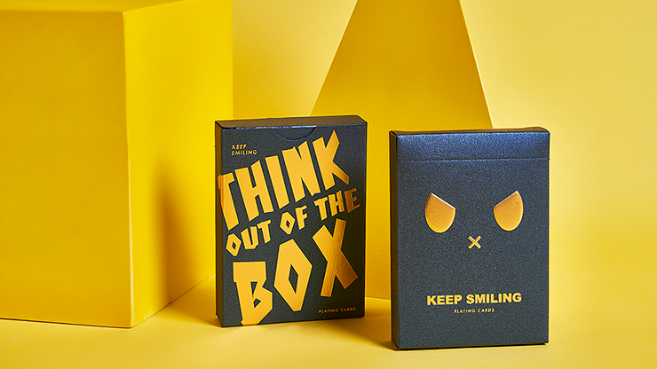 Carti de joc Keep Smiling Blue V2