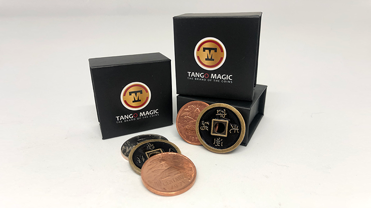 Triple TUC (Tango Ultimate Coin) Tricolor with Online Instructions - Tango