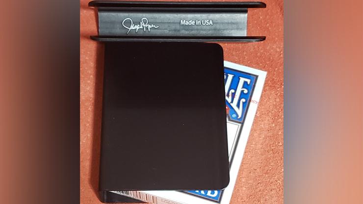 The Porper Card Clip (Black) FlatSpine - Joe Porper