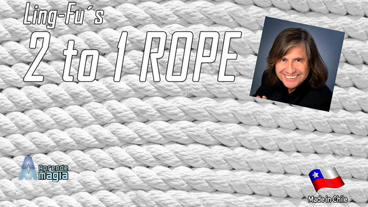 2 TO 1 Rope (White) - Aprendemagia