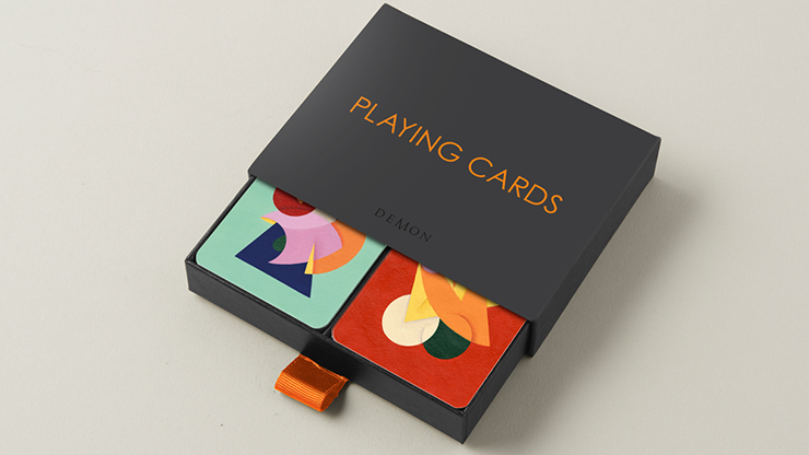 Charlie Oscar Patterson x Yolky Games Playing Cards Twin Set