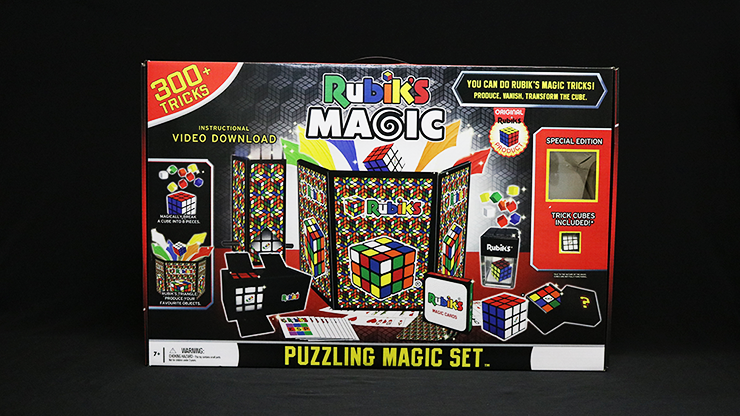 Rubik Puzzling Magic Set - Fantasma Magic