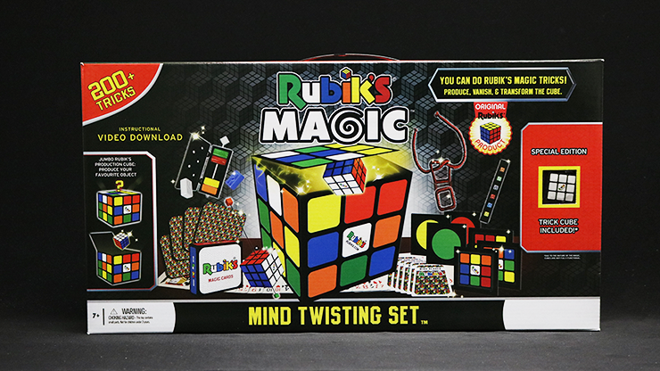 Rubik Mind Twisting Magic Set by Fantasma Magic