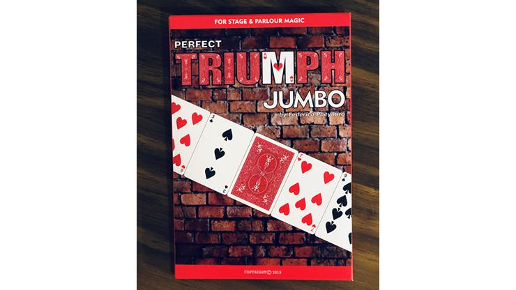 Perfect Triumph JUMBO (Gimmicks and Online Instructions) - Federico Poeymiro