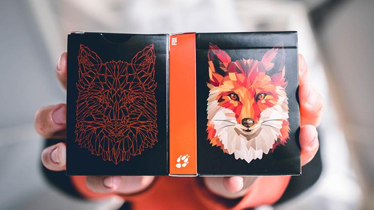 Fox Playing Cards - Riffle Shuffle