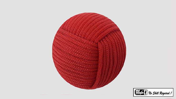 Rope Ball 2.25 inch (Red) - Mr. Magic