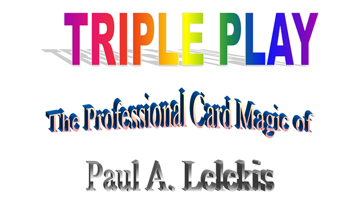 Triple Play by Paul A. Lelekis Mixed Media DOWNLOAD