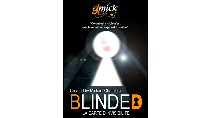 BLINDED RED (Gimmick and Online Instructions)