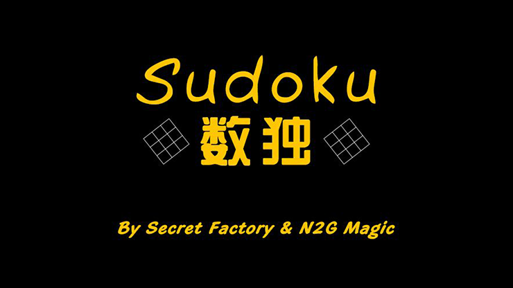 Sudoku by Secret Factory & N2G Magic.