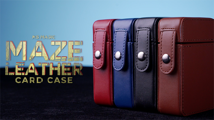 MAZE Leather Card Case by Bond Lee