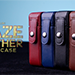 MAZE Leather Card Case (Red) by Bond Lee - Trick