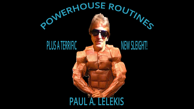 POWERHOUSE ROUTINES - Paul A. Lelekis Mixed Media DOWNLOAD