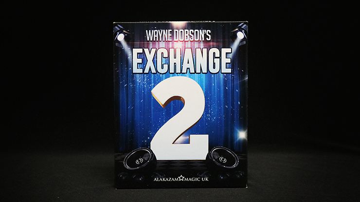 Waynes Exchange 2 (Gimmick and Online Instructions) - Wayne Dobson and Alakazam Magic