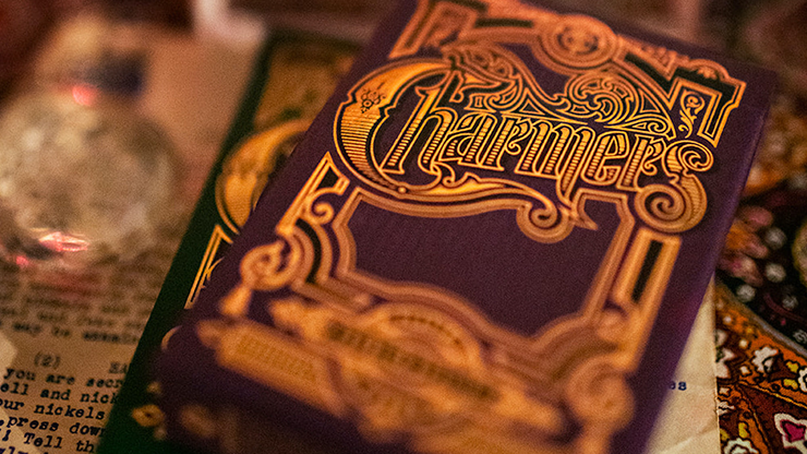 Charmers (Purple) Playing Cards By Kellar and Lotrek
