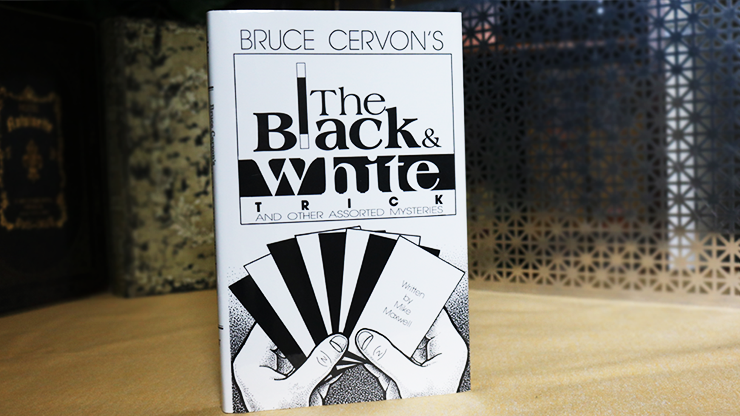 Bruce Cervon's The Black and White  and other assorted Mysteries - Mike Maxwell  Book