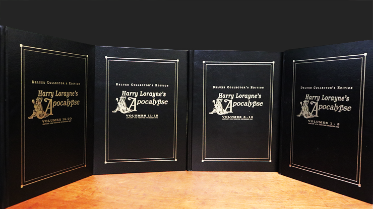Apocalypse Deluxe Set 4 Books (Signed and Numbered) - Harry Lorayne  Book