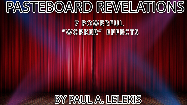 PASTEBOARD REVELATIONS  - Paul A. Lelekis mixed media DOWNLOAD