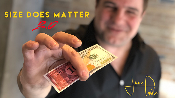 Size Does Matter 2.0 (Gimmicks and Online Instructions) - Juan Pablo Magic