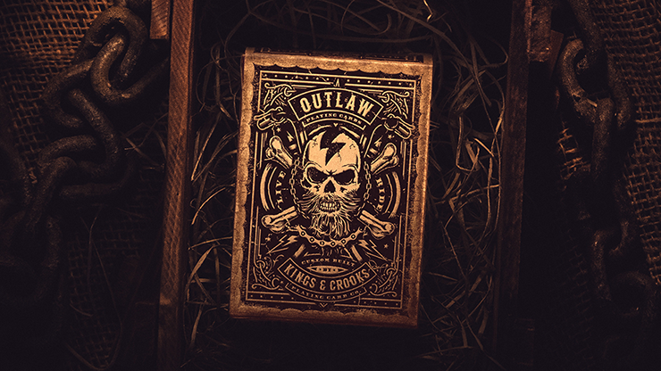 Outlaw Hell Riders Limited Edition Playing Cards - Kings and Crooks