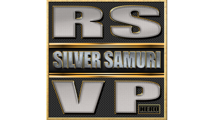RSVP BOX HERO (Silver Samurai) by Matthew Wright - Trick