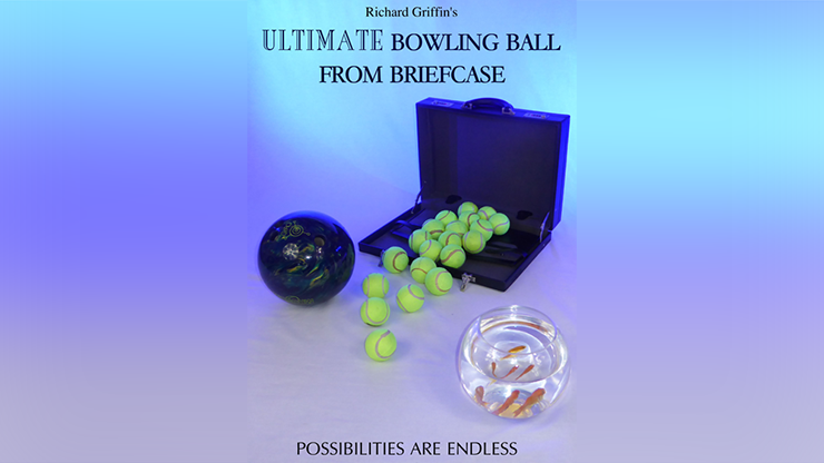 ULTIMATE BOWLING BALL FROM BRIEFCASE