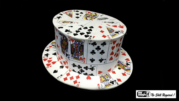 Card Fan to Top Hat - Mr. Magic