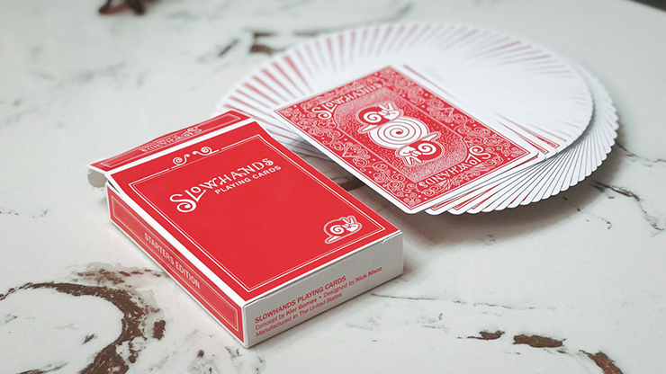 Slow Hands Playing Cards