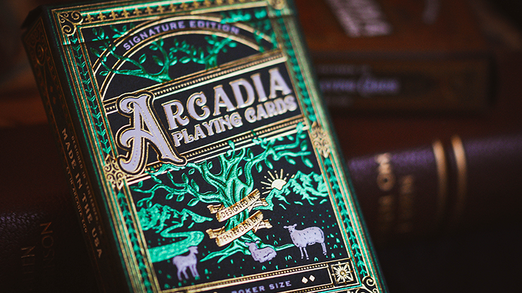 The Arcadia Signature Edition (Green) Playing Cards - Arcadia Playing Cards