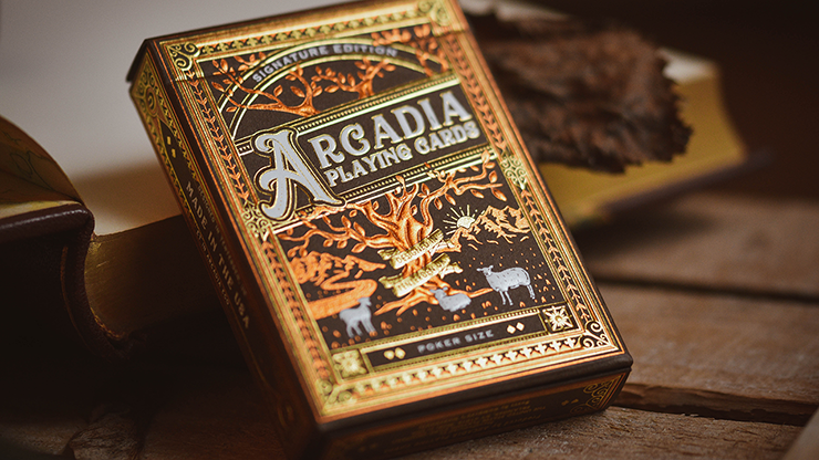 The Arcadia Signature Edition (Brown) Playing Cards - Arcadia Playing Cards