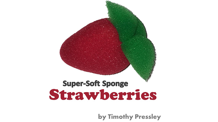 SuperSoft Sponge Strawberries - Timothy Pressley and Goshman