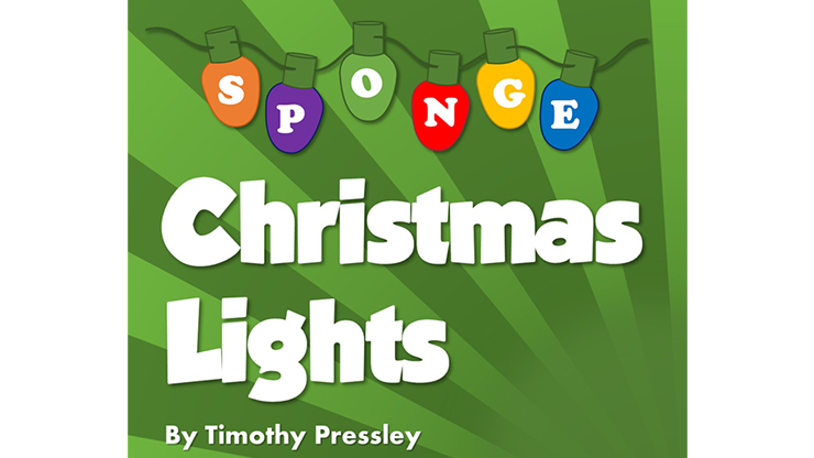 Super-Soft Sponge Christmas Lights by Timothy Pressley and Goshman
