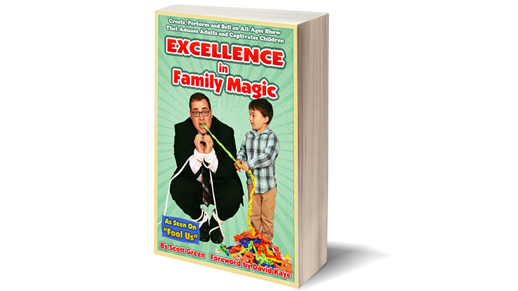 Excellence in Family Magic - Scott Green  Book