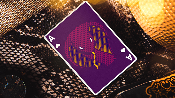 The Serpent (Purple) Playing Cards