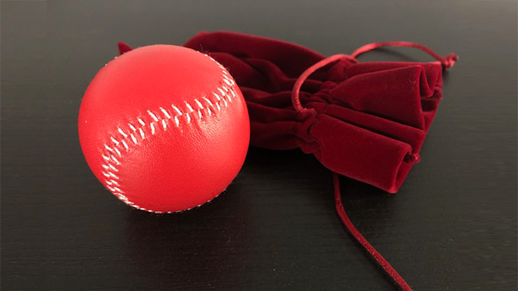 Final Load Ball Leather (5.7 cm Red) by Leo Smetsers